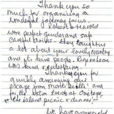 Letter Davies