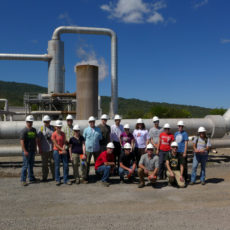 St. Norbert College group photo Ram Power Geothermal